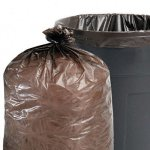 Stout-Total-Recycled-Content-Trash-Bags-33-Gallons-15-Milliliters-33-x-40-Brown-100Carton-T3340B15-by-Stout-0