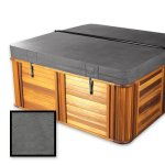 The-Cover-Guy-Standard-4-Replacement-Hot-Tub-Spa-Cover-Tiger-River-91x91x6-Radius-Corners-Brown-or-Grey-0-0