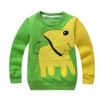 Toddler-Baby-Girls-Boys-Clothes-Cartoon-Elephant-Print-Long-Sleeve-Pullover-T-Shirt-Blouse-Tops-Sweatshirt-0