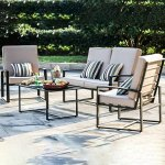 Transer-11-Piece-Outdoor-Patio-Furniture-Bistro-Table-Set-Lounge-Barrel-Chairs-with-Wrought-Iron-Bistro-Set-Tempered-Glass-Table-and-Cushions-Made-in-USA-0-1