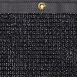 TruePower-Privacy-Fence-Screen-4-Tall-x-50-Long-Black-for-Patio-Deck-Balcony-Backyard-Fence-Apartment-Privacy-0