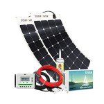 Unlimited-Solar-Sevan-PLUS-200-Watt-12-Volt-Flexible-Marine-Solar-Charging-System-0