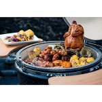 Vision-Grills-Kamado-Pro-Ceramic-Charcoal-Grill-with-Grill-Cover-Black-Matte-0-1
