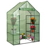 Weelongha-Portable-Mini-8-Shelves-Walk-In-Greenhouse-Outdoor-4-Tier-Rust-Resistant-0