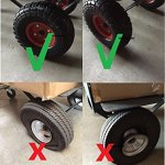 WennoW-2-x10-Flat-Free-Tire-for-Hand-Truck-Tire-Dolly-w-58-ID-Bearing-Filled-wFoam-0-0