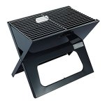 YI-HOME-BBQ-Outdoor-Mini-Barbecue-Black-Folding-Home-Seaside-Charcoal-Grill-Tool-3-5-People-0