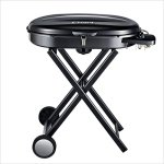 YI-HOME-BBQ-Outdoor-Portable-Black-Stainless-Steel-Barbecue-Home-Thickened-American-Enamel-Grill-Large-Garden-Charcoal-Silver-0