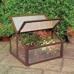 oldzon-Double-Box-Garden-Wooden-Greenhouse-Raised-Plants-Flower-With-Ebook-0-0