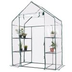 totoshop-3-Tier-House-Portable-4-Shelves-Walk-In-Greenhouse-Outdoor-New-Green-0-0
