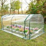 totoshop-7x3x3-Greenhouse-Mini-Portable-Gardening-Flower-Plants-Yard-Hot-House-Tunnel-0-2