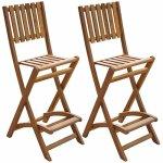 vidaXL-Patio-Bar-Table-and-Chairs-Set-Acacia-Wood-Outdoor-Restaurant-Cafe-Pub-0-1