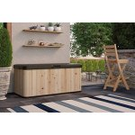 120-Gallon-Extra-Large-Wood-and-Resin-Deck-Box-Durable-Cedar-Construction-Ideal-for-Storing-Chair-Cushions-Umbrellas-Toys-and-Garden-Supplies-Natural-Cedar-Finish-0-0