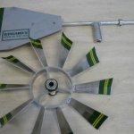 6-Ft-Premium-Aluminum-Decorative-Garden-Windmill-Green-Trim-0-1
