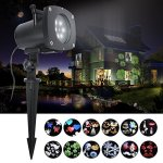 ANTSIR-Christmas-Rotating-Landscape-Projection-LED-Light-12-PCS-Switchable-Lens-Snowflake-Spotlight-Projector-for-Valentines-Day-HolidayBirthday-Wedding-Party-Kids-RoomNew-Year-0