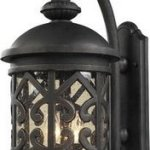 Artistic-Lighting-420612-2-Light-Outdoor-Sconce-In-Weathered-Charcoal-And-Clear-Seeded-Glass-0