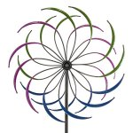 Best-Choice-Products-74in-Rainbow-Tri-Colored-Metal-Wind-Spinner-Multicolor-0-1