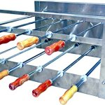 Brazilian-BBQ-Charcoal-Grill-09-Skewers-Rotisserie-System-Residential-0