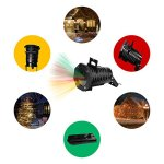 Christmas-Lights-Projector–Multicolor-Rotating-Led-Christmas-Shower-lights-10PCS-Pattern-Waterproof-Lens-Christmas-Projector-Lights-Outdoor-Indoor-for-Celebration-Garden-Decorations-and-more-0-2