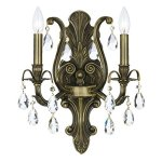 Crystorama-Dawson-5563-2-Light-Wall-Sconce-Clear-Handcut-Crystal-0