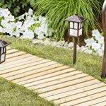 Garden-Pathway-8Ft-Walkway-Wooden-Portable-Lawn-Landscaping-Outdoor-Path-0-0