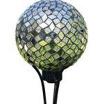 Geometric-Mirror-Mosaic-10-Inch-Glass-Mortar-Indoor-Outdoor-Garden-Gazing-Ball-0