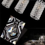 Gracelove-Modern-Crystal-Ceiling-Light-Pendant-Lamp-Fixture-Lighting-Chain-Chandelier-Including-2-Bulbs-0-1