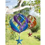 Hanging-Metal-Spiral-Garden-Wind-Spinner-0
