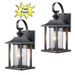 Hardware-House-230582-230414-13-14-by-6-Inch-Aluminum-Outdoor-Light-Fixtures-Twin-Pack-0