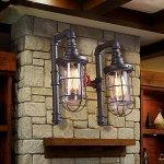 Injuicy-Lighting-Retro-Glass-Industrial-Vintage-Edison-Rust-Loft-Wall-Light-Waterpipe-Double-Lamp-0-1