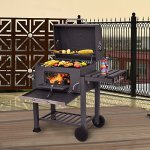 JedaJeda-NEW-Backyard-Charcoal-Grill-Barbecue-BBQ-Outdoor-Patio-Cooking-Portable-Wheels-0-0