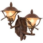 Kalco-9162PD-Ponderosa-Cast-Aluminum-Outdoor-Wall-Sconce-Lighting-200-Total-Watts-Ponderosa-0-0