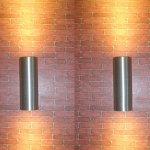 LUMINTURSTM-Pack2-12W-LED-Outdoor-External-Wall-Sconces-UpDown-Fixture-Light-Waterproof-IP65-Lamp-0