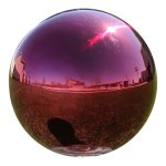 Lilys-Home-Gazing-Globe-Mirror-Ball-in-Red-Stainless-Steel-0