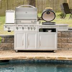 MM-Gas-Kamado-Combo-Grill-4-Burners-Side-Searing-Burner-and-Motorized-Rostisserie-Stainless-Steel-Includes-Grill-Cover-0