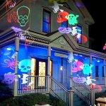 Projection-Light-16-Replaceable-Patterns-Projector-Lights-Waterproof-Garden-Spotlights-Landscape-Light-for-Christmas-Halloween-Birthday-Wedding-Holiday-Party-De-0-0