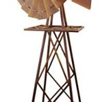 Red-Carpet-Studios-5-Foot-Rustic-Windmill-Rooster-0