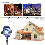 Snowfall-Light-Projector-AVEKI-Rotating-Waterproof-White-Snowflake-Fairy-Landscape-Projection-Lights-with-Wireless-Remote-for-Outdoor-Wedding-Christmas-Halloween-Holiday-Outside-Decoration-0-2