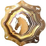 Stainless-Steel-Horse-12-Inch-Wind-Spinner-Copper-0
