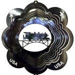 Stainless-Steel-Train-12-Inch-Wind-Spinner-Black-0