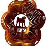 Stainless-Steel-Wind-Spinner-12-Animal-Dog-Breed-Pug-Copper-Starlight-0