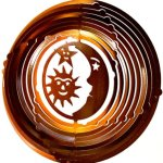 Stainless-Steel-Wind-Spinner-12-Sun-Moon-Stars-Copper-Starlight-0