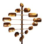 Stanwood-Wind-Sculpture-CWS-06-Kinetic-Lucky-8-Twirler-Copper-Wind-Spinner-0