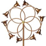 Stanwood-Wind-Sculpture-Kinetic-Copper-Dual-Spinner-Tumbling-Flowers-0