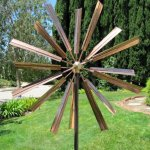 Stanwood-Wind-Sculpture-Kinetic-Copper-Wind-Sculpture-Double-Windmill-Spinner-0