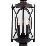 Trans-Globe-Lighting-40415-ROB-Outdoor-Fiesta-24-Postmount-Lantern-Rubbed-Oil-Bronze-0
