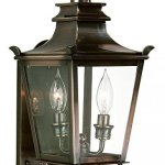 Troy-Lighting-Dorchester-1625H-2-Light-Outdoor-Wall-Lantern-English-Bronze-Finish-with-Clear-Glass-by-Troy-0