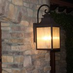 Y-Decor-EL2283RT-Modern-Transitional-Traditional-2-Light-Rustic-Bronze-Exterior-Outdoor-Light-Fixture-with-Clear-Seedy-Glass-Small-By-Y-Dcor-Brown-0-0