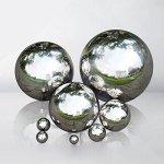 eronde-Silver-Stainless-Steel-Gazing-Balls-Mirror-Polished-Hollow-Ball-Garden-Sphere10-mm394-inch-0-2