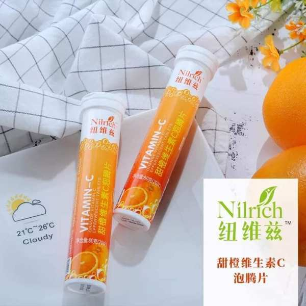 Nilrich Vitamin C Effervescent Tablets