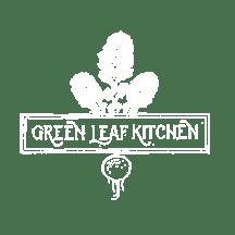 Green Leaf Kitchen Logo White